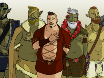 Related game image for : Tusks: The Orc Dating Sim